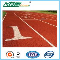 Wholesale Standard Athletic Rubber Running Track Flooring For Stadium / Sports Court / Pathway from china suppliers