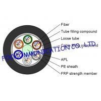 Wholesale GYFTA Optical Fiber Cable With Non metal Central Strength Member and Aluminium Tape from china suppliers