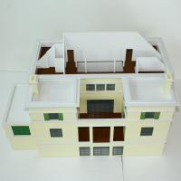 Wholesale Commercial Building Miniature Architectural Models Layout Wood Base from china suppliers
