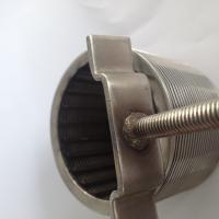 Quality Self Cleaning Filter , Refrigeration And Heat Exchange Wedge Wire Screen Filter Element Strainer for sale