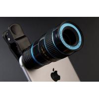 Wholesale 18mm Caliber Smartphone Telescope Lens , Cell Phone Telephoto Lens With Tripod from china suppliers