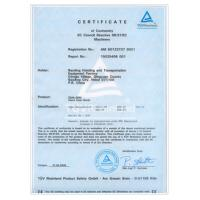 Baoding Hoisting And Transportation Equipment Factory Certifications