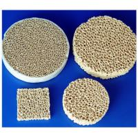 Wholesale Different Shape Arc-Resistance Alumina Aluminum Oxide Ceramic Foam For Chemical, Cement from china suppliers