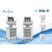 Wholesale Latest HIFU machine with 3 cartridges add fat melt cartridge for skin rejuvenation from china suppliers