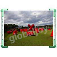 Wholesale Inflatable Paint Ball Bunkers / Air  Obstacle Course / Paintball Games from china suppliers