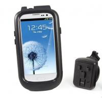 Wholesale Black Rotatable Bike Mount Mobile Phone Holder Waterproof For Samsung Galaxy S3 i9300 from china suppliers