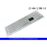 Wholesale Stainless Steel Industrial Keyboard With Touchpad High Vandal-Proof With USB Interface from china suppliers