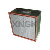 Quality Stainless Steel Frame High Temperature HEPA Filters for sale