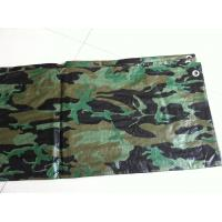 Wholesale waterproof flame retardant camo tarps  for hunting ground and military tent from china suppliers