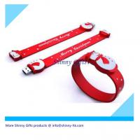 Wholesale silicone usb bracelet for Christmas gifts  from china suppliers