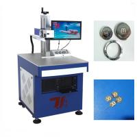 Wholesale Precision ±0.003mm Metal Laser Marking Machine Fiber 20W 20 khz - 100 khz from china suppliers