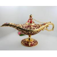 Wholesale Shinny Gifts Big Size Design Rare Legend Magic Genie Light OiL Lamp Pot from china suppliers