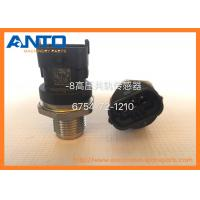 Wholesale 6754-72-1210 Pressure Sensor Applied To Komatsu PC200-8 6D107 Common Rail Spare Parts from china suppliers