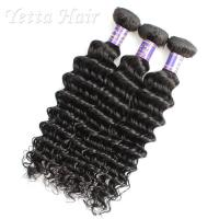 Wholesale Deep Culry Cambodian Virgin Hair Mixed Length No Any Bad Smell from china suppliers