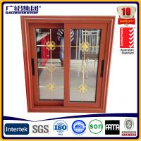 Wholesale aluminium windows with grill design from china suppliers