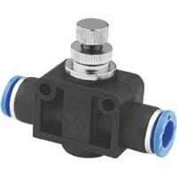 Wholesale One Way Pneumatic Flow Control Valves For Connecting To Male Plug In Connections from china suppliers