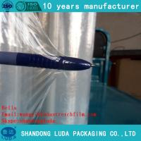 Wholesale LLDPE Clear Packing Wrap Cast Stretch Film  jumb roll cling wrap film from china suppliers