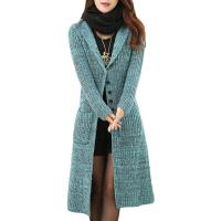 Wholesale Melange Cable Knit Womens Long Cardigans Women'S Button Front Cardigan Sweaters from china suppliers