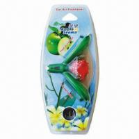 Buy cheap Car Vent Breathable Membrane Fragrance Air Fresheners, Flower-shaped from wholesalers