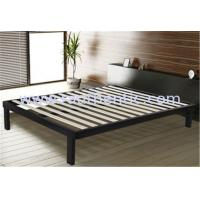 Quality Sturdy queen steel frame double bed with Corner and Floor protector modern bedroom furniture for sale