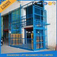 Wholesale 5m Vertical Hydrualic Platform Lift  for Warehouse Cargo Lifting 3 ton Lifting Capacity from china suppliers