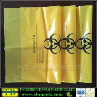 Quality Custom Yellow Autoclave Medical Garbage Bag for sale