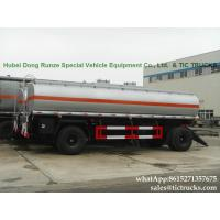 Wholesale Manufactures high quality fuel tankers Pup Trailer  25000L Fuel Tank Full Trailer for sale WhatsApp:8615271357675 from china suppliers