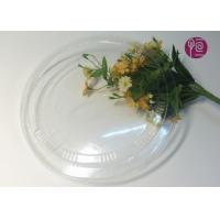 Wholesale 26oz Round Flat Soup Disposable Plastic Lids In BOPS Material / BPA Free from china suppliers