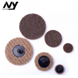China 2 3 Quick Change Sanding Discs , Orbit Roloc Sanding Pads Strong Flexibility on sale