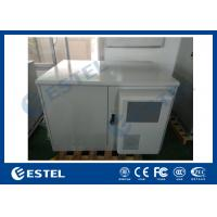 Buy cheap Metal Customized Outdoor Rack Cabinet BTS Telecom Shelter With Double Door from wholesalers