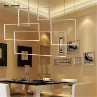 Wholesale DIY Minimalism Hanging Modern Led Pendant Lights For Dining Living Room suspension luminaire suspendu LED Pendant Lamp F from china suppliers