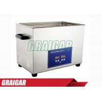 Wholesale 30L Precision Electronic Parts Ultrasonic Cleaners Normal Temperature from china suppliers