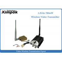 Wholesale 1400m AV COFDM Wireless Transmitter / Video Transmission Equipment 8CHs from china suppliers
