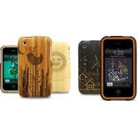 Wholesale engraving pattern carbonization bamboo case, for iphone 6 plus bamboo phone case from china suppliers
