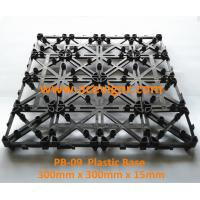 Wholesale PB-09 Interlocking Plastic mat for decking tiles from china suppliers