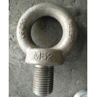 Wholesale Heavy Duty Steel Lifting Eye Bolt with Zinc plated White , yellow , self color from china suppliers