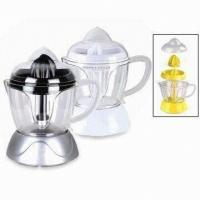 Wholesale 1L Squeeze Electric Fruit Juicer, Juice Extractor with Detachable transparent container from china suppliers