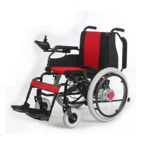 Quality Manual Electric Dual Use Foldable Motorized Wheelchair For Disabled / Elderly for sale