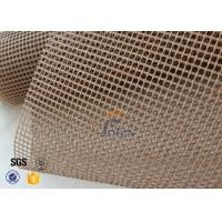 Wholesale 600g PTFE Coated Glass Fibre Fabric Mesh Fabric Conveyor Belt 4x4 from china suppliers