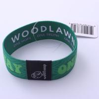 Wholesale YDWB-015 Colorful Custom Wrist Band With Woven Jacquard LOGO from china suppliers