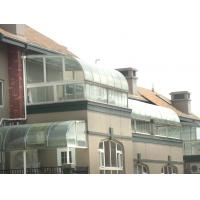 Wholesale Colour Commercial Curved Tempered Glass Shatterproof For Windows , 8mm Thick from china suppliers