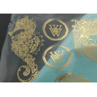 Quality Electroplated Thin Nickel Label Custom Metal Plates Metal Sticker With 3M Adhesive for sale