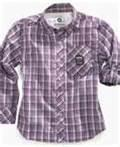 Wholesale Personalized Breathable kids cotton plaid shirt, navy plaid shirt, kids summer clothes from china suppliers