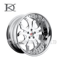 Wholesale Silver White One Piece Forged Wheels Forged Alloy Wheels For Racing Car from china suppliers