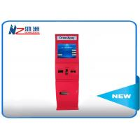 Wholesale Windows wireless advertising touch screen cash kiosk machines with sheet metal shell from china suppliers