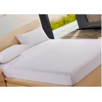 Wholesale White Plain Bed Bug Certified Mattress Encasement Double Protective Cover from china suppliers