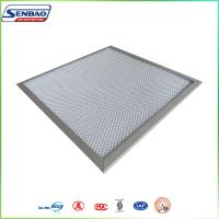 Wholesale White Pre Pleated Panel Air Filters For AHU Ventilation System from china suppliers