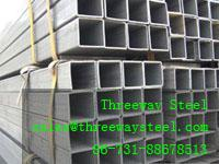 Buy cheap Black / galvanized square steel pipe Thin thickness seamless from wholesalers