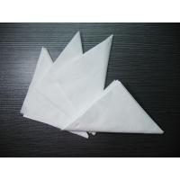 Wholesale Table Setting Tissue White Paper Napkins , Cotton Dinner Napkins from china suppliers