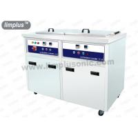 Quality 130liter 1800W Dual Slot Ultrasonic Cleaner Machine with Dring Tank SUS316L for sale